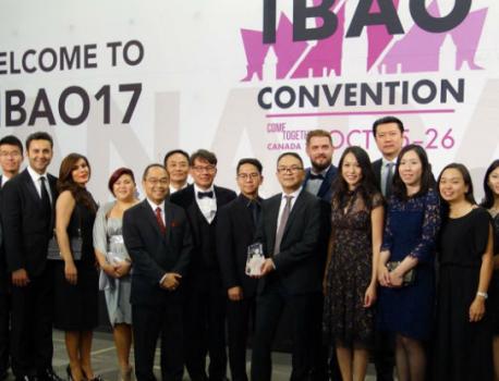 聯合保險奪得IBAO「2017年度保險顧問公司大獎」